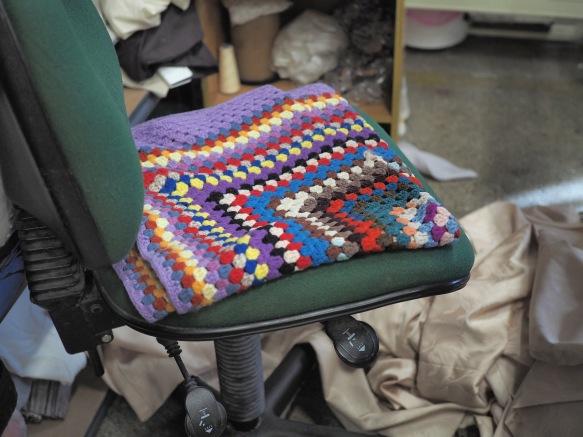Julie's seat