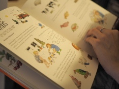 Some of Giselle's work featured in the children's annual